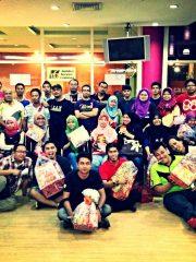 Pertandingan Bowling Anjuran KampungChat & KCFM Network