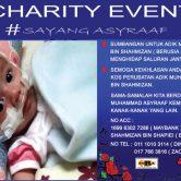 Program Amal #SAYANGASYRAAF